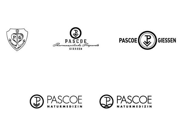 História Pascoe: Vývoj loga