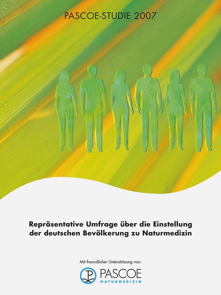 Štúdia Pascoe – postoj Nemcov k prírodnej medicíne
