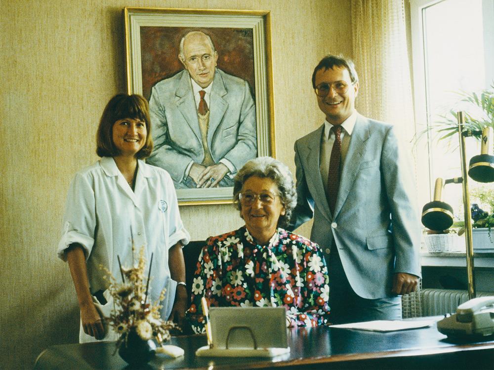 Rodina Pascoe v roku 1971