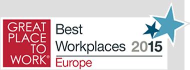 Vyznamenanie Najlepší európski zamestnávatelia v Európe 2015 pre Pascoe